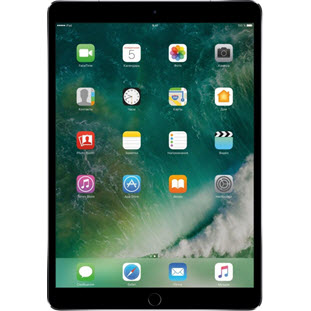 Apple iPad Pro 10.5 (256Gb, Wi-Fi + Cellular, space gray, MPHG2RU/A)