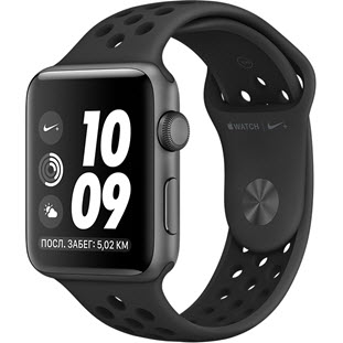 Apple Watch Nike+ Series 3 38mm (Space Gray Aluminum Case with Anthracite/Black Nike Sport Band)