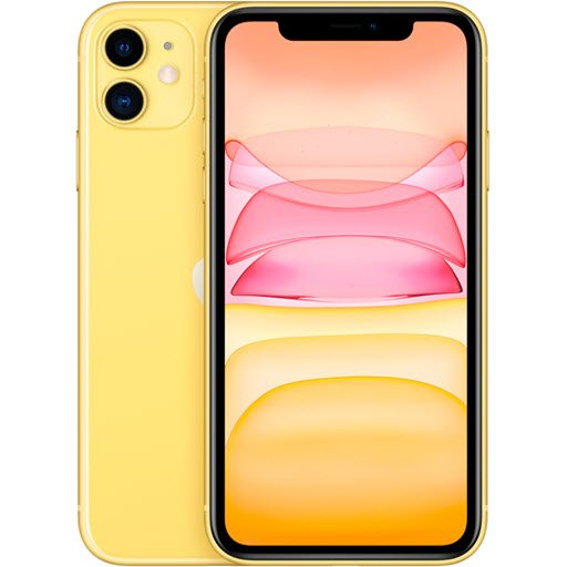 Apple iPhone 11 (64Gb, yellow, MWLW2RU/A)