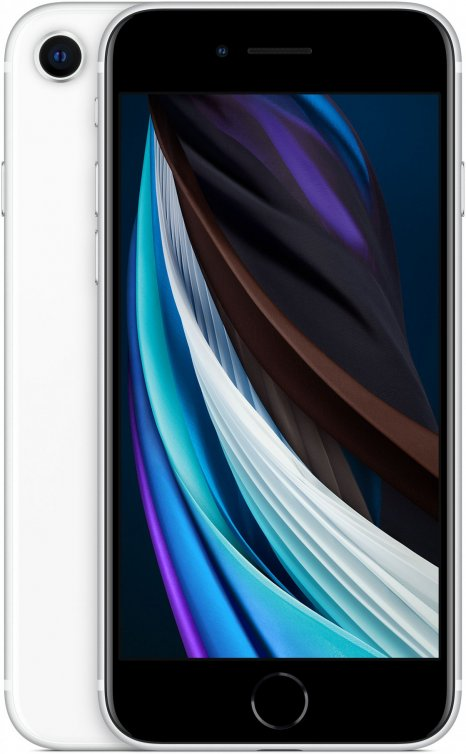 Фото товара Apple iPhone SE 2020 (128Gb, white, MXD12RU/A)