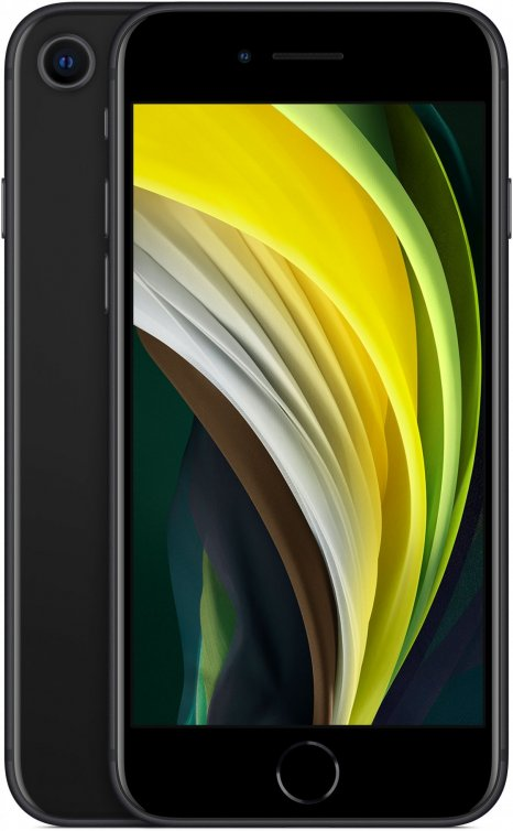 Фото товара Apple iPhone SE 2020 (256Gb, black, MXVT2RU/A)
