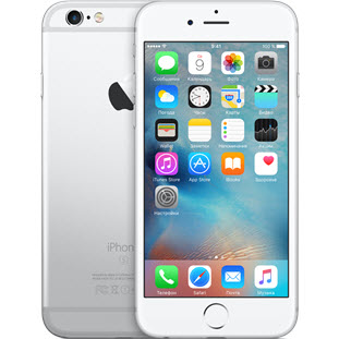Фото товара Apple iPhone 6S Plus (32Gb, silver, A1687)