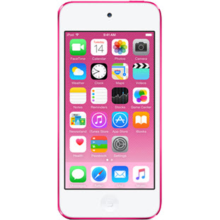 Фото товара Apple iPod touch 6 (128Gb, pink, MKWK2RU/A)