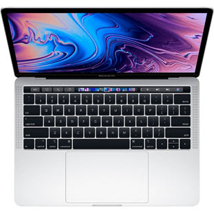 Фото товара Apple MacBook Pro 13 with Retina display and Touch Bar Mid 2018 (MR9V2RU/A, i5 2.3/8Gb/512Gb, silver)