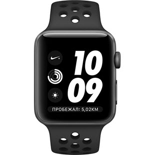 Фото товара Apple Watch Nike+ Series 3 38mm (Space Gray Aluminum Case with Anthracite/Black Nike Sport Band)
