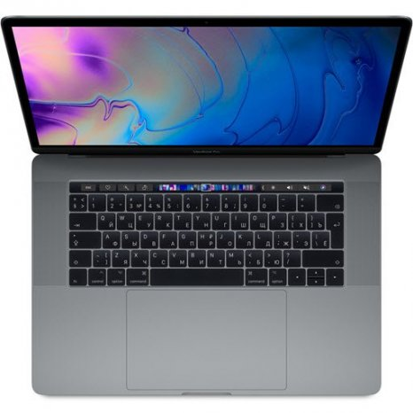 Фото товара Apple MacBook Pro 15 with Retina display Mid 2019 (MV912, i9 2.3/16Gb/512Gb, space gray)