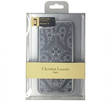 Фото товара Christian Lacroix Paseo metal для Apple iPhone 6/6S (silver)