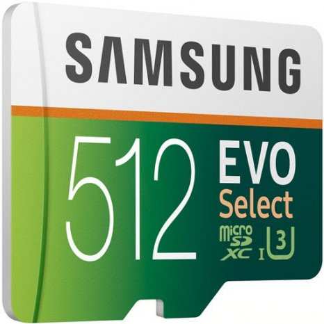 Фото товара Samsung EVO Select microSDXC MB-ME512GA 512Gb + SD adapter