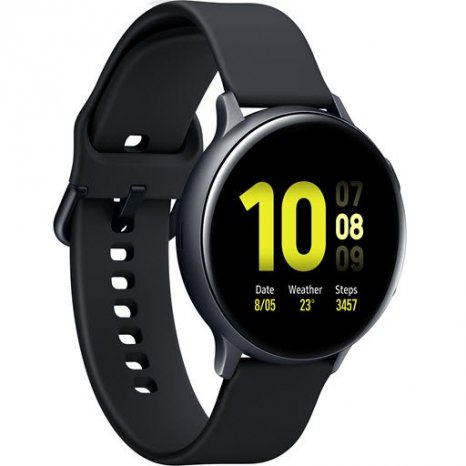 Фото товара Samsung Galaxy Watch Active2 (алюминий, 44 мм, SM-R820NZKASER, black)