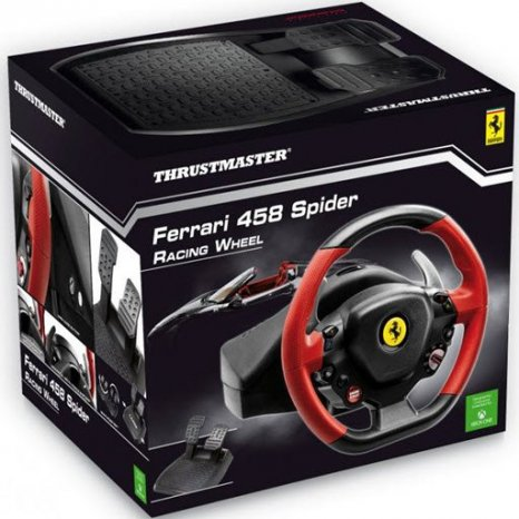 Фото товара Thrustmaster Ferrari 458 Spider Racing Wheel (THR21)
