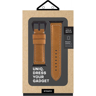 Фото товара Uniq Kronos Geniune Leather для Apple Watch 42mm (42MM-KRNSBWN, brown)