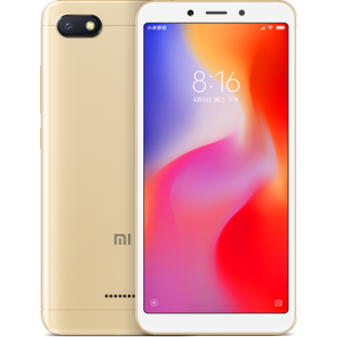 Фото товара Xiaomi Redmi 6A (2/32Gb, RU, gold)