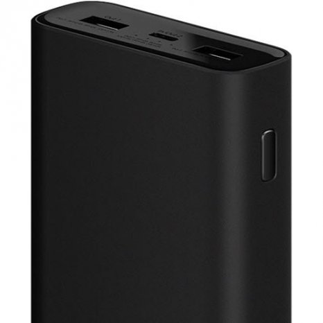 Фото товара Xiaomi Mi Power Bank 3 Pro (20000 мАч, black)