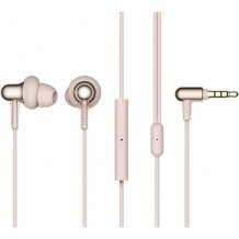 Наушники 1MORE Stylish Dual-Dynamic In-Ear E1025 (platinum gold)