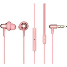 Наушники 1MORE Stylish Dual-Dynamic In-Ear E1025 (rose pink)