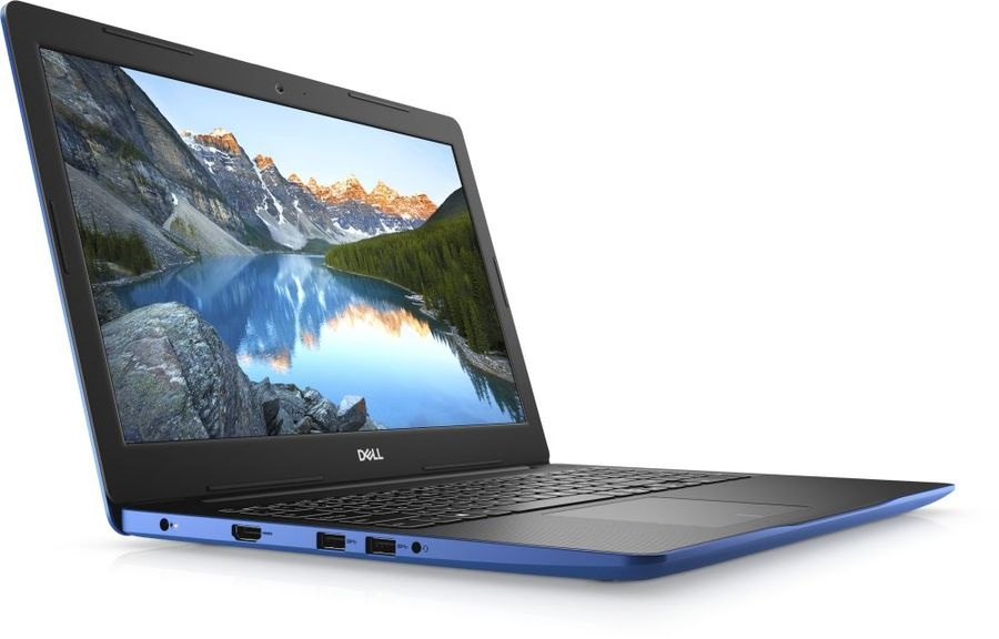 Ноутбук Dell Inspiron 3582 CDC N4000 4Gb 500Gb Intel UHD Graphics 600 15.6 HD BT Cam 3500мАч Linux Синий 3582-3301