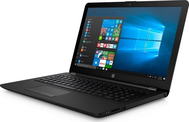 Ноутбук HP 15 A6-9220 4Gb 500Gb AMD Radeon R4 series 15,6 HD SVA BT Cam 2620мАч Win10 Черный 15-rb046ur 4UT27EA