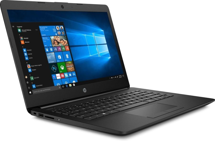 Ноутбук HP 14 A9-9425 4Gb SSD 128Gb AMD Radeon R5 series 14 HD SVA BT Cam 2670мАч Win10 Черный 14-cm0503ur 7GN50EA