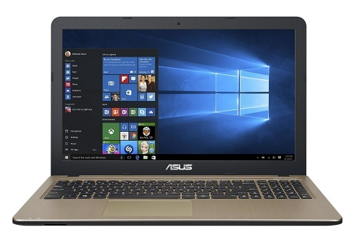 Ноутбук ASUS X540NA CQC N3350 4Gb 500Gb Intel HD Graphics 500 15,6 HD BT Cam 2600мАч Win10 Черный/Золотистый X540NA-GQ005T 90NB0HG1-M02040