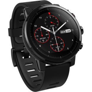 Умные часы Amazfit Stratos (Global Version, black)