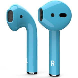 Bluetooth-гарнитура Apple airPods Custom Colors (gloss glacier)
