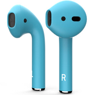 Bluetooth-гарнитура Apple airPods Custom Colors (matt glacier)