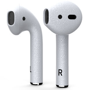 Bluetooth-гарнитура Apple airPods Custom Colors (matt silver)