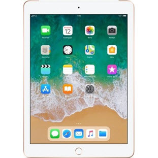 Планшет Apple iPad 2018 (32Gb, Wi-Fi + Cellular, gold)