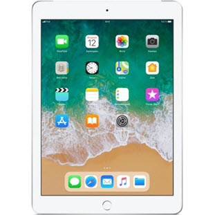 Планшет Apple iPad 2018 (32Gb, Wi-Fi + Cellular, silver, MR6P2RU/A)