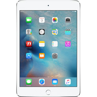 Планшет Apple iPad mini 4 (128Gb, Wi-Fi + Cellular, silver)