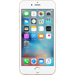 Мобильный телефон Apple iPhone 6S Plus (128Gb, восстановленный, gold, FKUF2RU/A)
