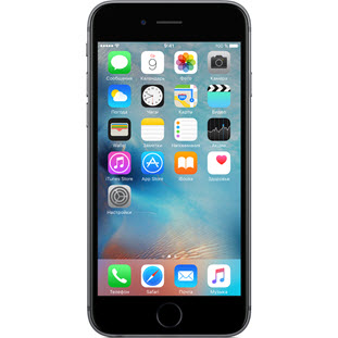 Мобильный телефон Apple iPhone 6S Plus (128Gb, восстановленный, space gray, FKUD2RU/A)