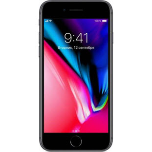 Мобильный телефон Apple iPhone 8 (128Gb, space gray, MX162RU/A)