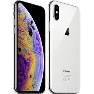 Мобильный телефон Apple iPhone Xs (64Gb, silver, MT9F2RU/A)