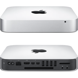 Настольный компьютер Apple Mac mini (MGEQ2RU/A, i5 2.8/8Gb/1000Gb, silver)