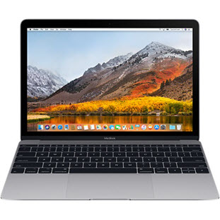 Ноутбук Apple MacBook 12 Mid 2017 (MNYF2RU/A, M3 1.2/8Gb/256Gb, space gray)