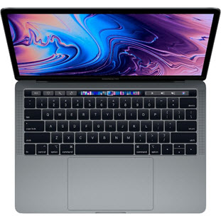 Ноутбук Apple MacBook Pro 13 with Retina display and Touch Bar Mid 2018 (MR9R2RU/A, i5 2.3/8Gb/512Gb, space gray)