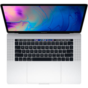 Ноутбук Apple MacBook Pro 15 with Retina display Mid 2018 (MR972, i7 2.6/16Gb/512Gb, silver)