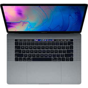 Ноутбук Apple MacBook Pro 15 with Retina display Mid 2018 (MR932RU/A, i7 2.2/16Gb/256Gb, space gray)