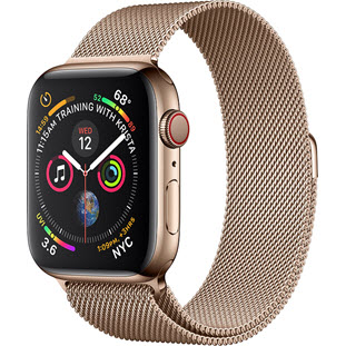 Умные часы Apple Watch Series 4 GPS + Cellular 40mm (Gold Stainless Steel Case with Gold Milanese Loop)