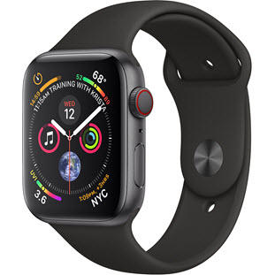 Умные часы Apple Watch Series 4 GPS + Cellular 40mm (Space Gray Aluminum Case with Black Sport Band)