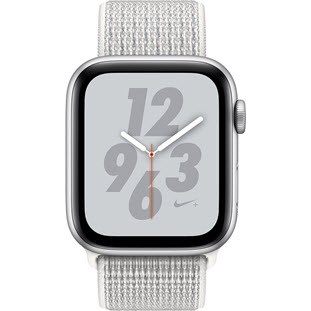 Фото товара Apple Watch Series 4 GPS 40mm (Silver Aluminum Case with Summit White Nike Sport Loop, MU7F2RU/A)