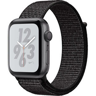 Умные часы Apple Watch Series 4 GPS 40mm (Space Gray Aluminum Case with Black Nike Sport Loop, MU7G2RU/A)