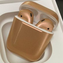 Bluetooth-гарнитура Apple AirPods Custom Colors (gloss wheat)