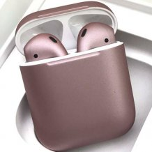 Bluetooth-гарнитура Apple airPods Custom Colors (matt rose gold)