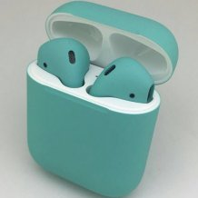 Bluetooth-гарнитура Apple airPods Custom Colors (matt tiffany)