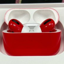 Bluetooth-гарнитура Apple AirPods Pro Color (gloss red)