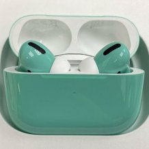 Bluetooth-гарнитура Apple AirPods Pro Color (gloss tiffany)