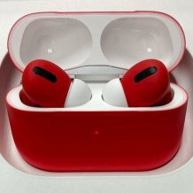 Bluetooth-гарнитура Apple AirPods Pro Color (matt red)