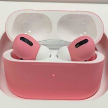Bluetooth-гарнитура Apple AirPods Pro Color (matt soft pink)